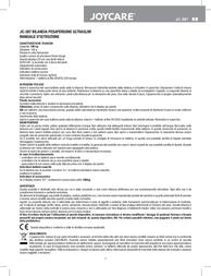 Joycare JC-387 User Manual