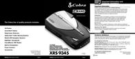 Cobra XRS 9345 XRS-9345 User Manual