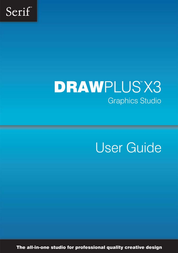 Serif DrawPlus X3 ECD518615M User Manual