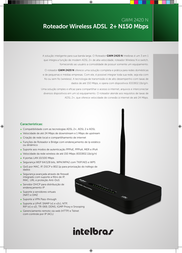 Intelbras GWM 2420 N 4005067 Leaflet