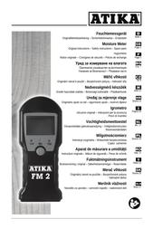 ATIKA fm 2 User Manual