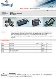 Tecnostyl E8154 Leaflet