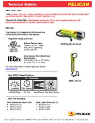 Pelican 2410 2410-015-247 Leaflet