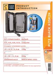 Case Logic Leatherlook Stongman PDA Case - Zippered PLT2 Leaflet