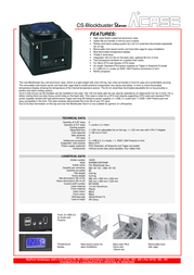 AplusCase CS-BLOCKBUSTER STORM 12455 Leaflet