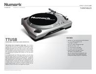 Numark Budget USB Turntable ITTUSB05 Leaflet