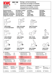 KWC 802 106 User Manual