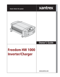 Xantrex ENERGY HW 1000 User Manual