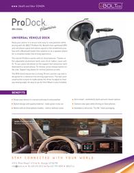 iBOLT.co ProDock Alumina IBU-33404 Leaflet