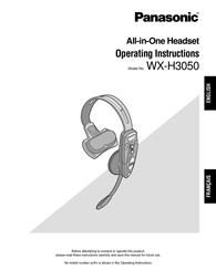 Technics WX-H3050 User Manual