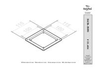 Dataflex ViewMate Track VESA Adapter 464 51.464 Leaflet