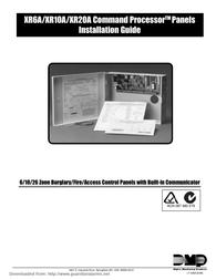 DMP Electronics XR6A User Manual