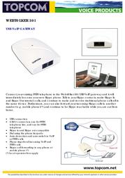 Topcom Webtalker 301 VoIP USB TOP131013 전단