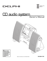 Delphi SA10034-11B1 User Manual
