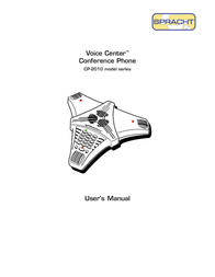 Spracht Voice Center cp-2010 User Manual