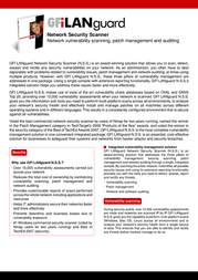 GFI LANguard Network Security Scanner, 128 IP LANSS128 User Manual