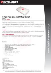 Intellinet 502054 Leaflet