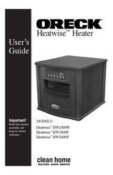 Oreck HEATWISE HW1500W User Manual
