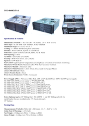 Fantec TCG-4860KX47A-1 2997 Leaflet