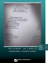 Rillprint 89118 User Manual