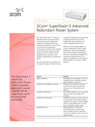 3com SuperStack II Kabel 3C16079 User Manual