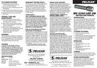 Pelican 2390 2390-000-110 Leaflet