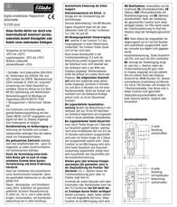 Eltako Multiway switch (digital) 1-pin 16 A 1 maker 8 V DC/AC, 12 V DC/AC, 24 V DC/AC, 110 V DC/AC, 230 V DC/AC Conductor type 23100800 Data Sheet