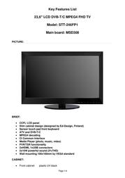 Saga STT-246FP1 User Manual