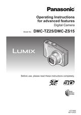 Panasonic DMC-TZ25 User Manual