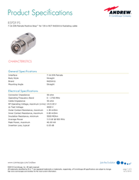 Andrew R5PDF-PS User Manual