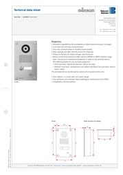 myintercom MYI0001 Product Datasheet
