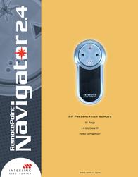 Interlink Navigator 2.4 VP4150 Leaflet