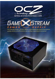 OCZ Technology GameXStream Power Supply 1010W OCZ1010GXSSLI-EU User Manual
