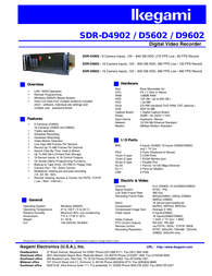 Ikegami sdr-d4902 Supplementary Manual