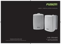 Fusion Electronics Portable Speaker MS-0S420 User Manual