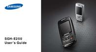Vodafone Prepay Packet Samsung E250 3003213 User Manual