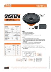 Hertz DSK 165.3 Leaflet