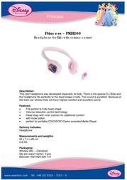 Disney PKH200 产品宣传页