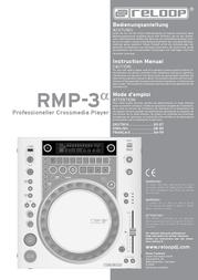 Reloop DJ CD Player RMP-3 Alpha RMP-3 Data Sheet