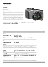 Panasonic DMC-TZ40 DMC-TZ40EG-S User Manual