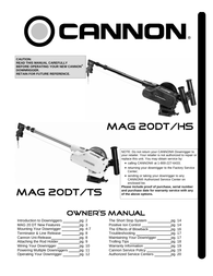 Cannon Mag 20 Dt/Ts User Manual