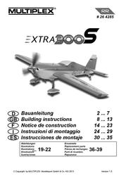 MULTIPLEX Extra 300 S 264285 User Manual