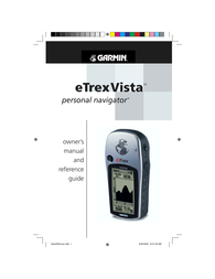 Garmin eTrex Vista User Manual