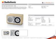 AudioSonic RD-1541 Leaflet