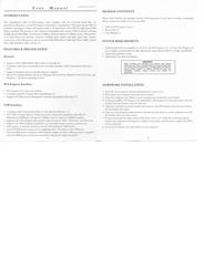 SYBA SD-PEX20047 Leaflet