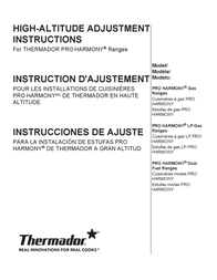 Thermador PR305PH Instruction Manual