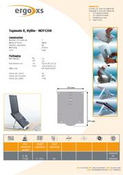 ErgoXS Topmate II Hylite NOT1200 Leaflet