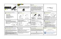 MiPow Power Tube 2600M SP2600M-BK Leaflet