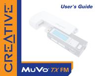 Creative Labs CREATIVE MUVO TX 256MB FM 73PD051100003 User Manual
