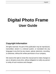 Gold Lantern dpf-10102 User Guide